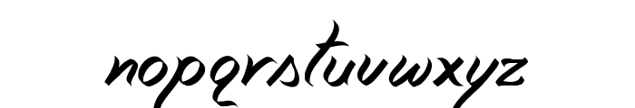Miciana-Regular Font LOWERCASE