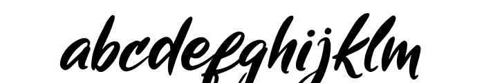 Mickey Steward Font LOWERCASE