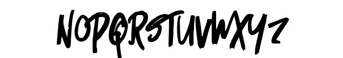 Micks-Regular Font UPPERCASE