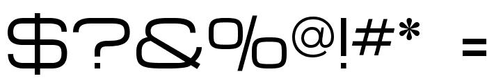 MicroExtendFLF Font OTHER CHARS