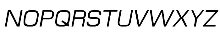 MicroFLF-Italic Font UPPERCASE