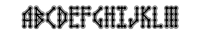 Microbe Collegiate AOE Font UPPERCASE