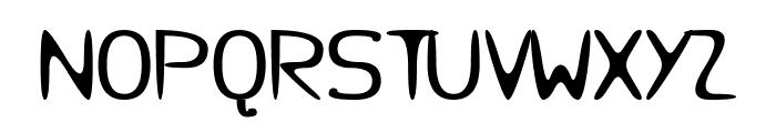Micursif Font UPPERCASE