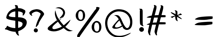 MiddleEarth Font OTHER CHARS