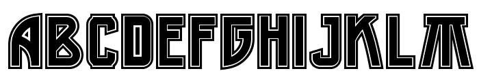 MiddleEarthNF Medium Font UPPERCASE