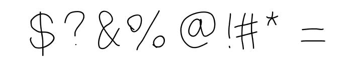MiddleSchoolIsHard Font OTHER CHARS