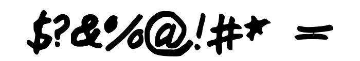 MiddleSchoolSucks Font OTHER CHARS
