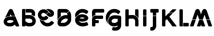 Middlecase Black-Solid Font UPPERCASE