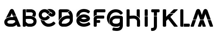 Middlecase Bold-Solid Font UPPERCASE