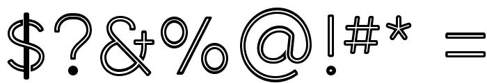 Middlecase Regular-Inline Font OTHER CHARS