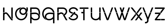Middlecase Regular-Solid Font LOWERCASE