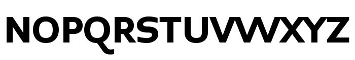 Midiet Sans Bold Font UPPERCASE