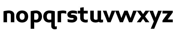 Midiet Sans Bold Font LOWERCASE