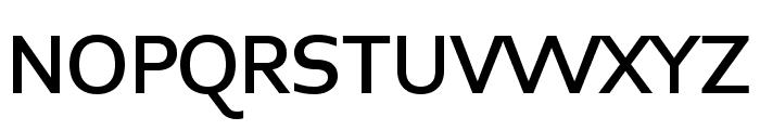 Midiet Sans Medium Font UPPERCASE