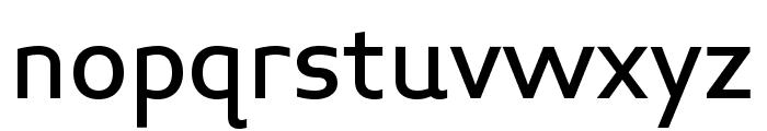 Midiet Sans Medium Font LOWERCASE