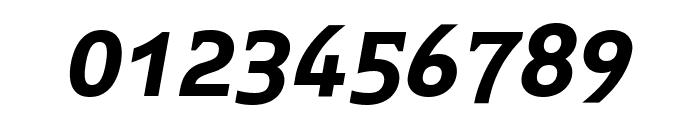 Midiet Serif Italic Bold Font OTHER CHARS