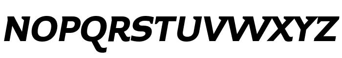 Midiet Serif Italic Bold Font UPPERCASE