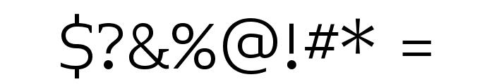 Midiet Serif Light Font OTHER CHARS