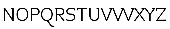 Midiet Serif Light Font UPPERCASE