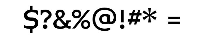 Midiet Serif Medium Font OTHER CHARS