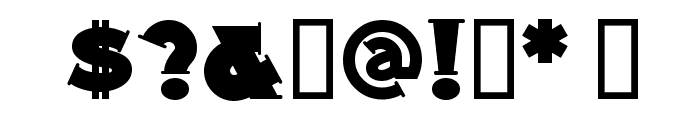 MidlandRailNF Font OTHER CHARS