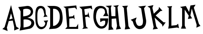Midnight Junk Yard Font UPPERCASE