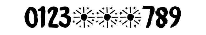 Midnight Sun DEMO Regular Font OTHER CHARS