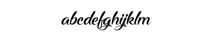 Midnight Valentine Font LOWERCASE