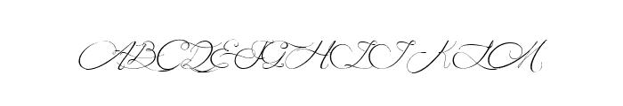 MidnightLegend Font UPPERCASE