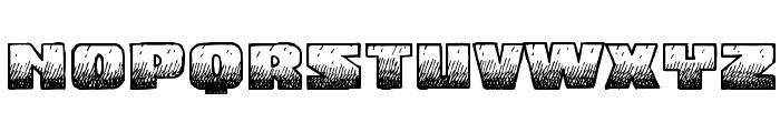 MidnightSnack BB Font UPPERCASE