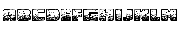 MidnightSnack BB Font LOWERCASE