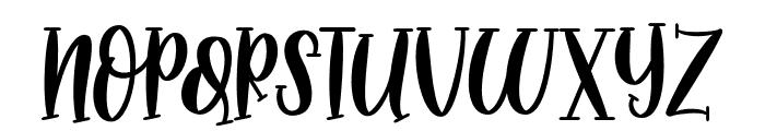 MidnightStoryRegular Font UPPERCASE