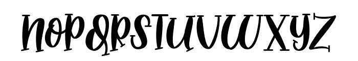 MidnightStoryRegular Font LOWERCASE