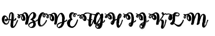 MidnightinOctober Font UPPERCASE