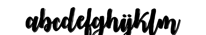 MidnightinOctober Font LOWERCASE