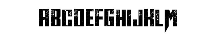 Midnite Hour Font UPPERCASE