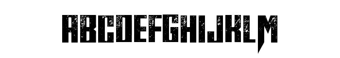 MidniteHour Font UPPERCASE