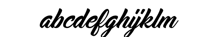 Midtown Font LOWERCASE