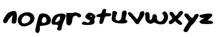 MiffinsHandwriting Font LOWERCASE