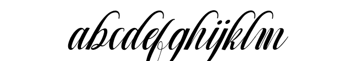 Mighty Free Font LOWERCASE