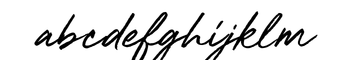 Mighty River Font LOWERCASE
