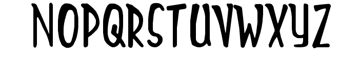Mighty-Tomato Font LOWERCASE