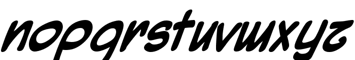 Mighty Zeo Bold Font LOWERCASE