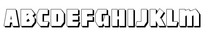 MightyShadowBlack Font LOWERCASE