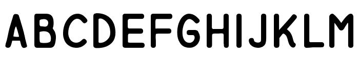 Miglia Fur Font LOWERCASE