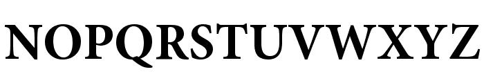 Mignon-Bold Font UPPERCASE