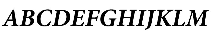 Mignon-BoldIt Font UPPERCASE