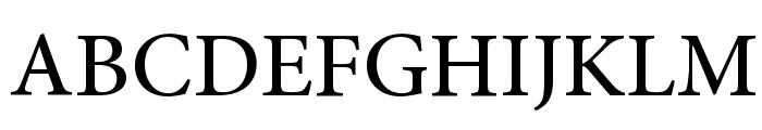 Mignon-Medium Font UPPERCASE