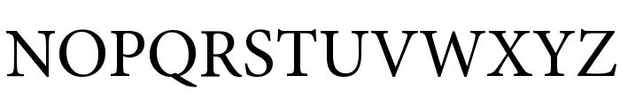 Mignon-Regular Font UPPERCASE