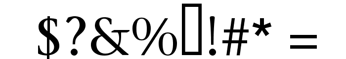 MigraineSerif Font OTHER CHARS